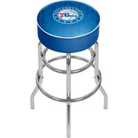 NBA Padded Swivel Bar Stool - City - Philadelphia 76ers