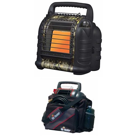 Mr. Heater Hunting Buddy Portable Heater w/ Water Resistant 9BX Buddy Carry