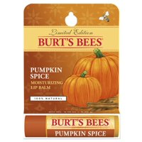 Burt's Bees 100% Natural Moisturizing Lip Balm, Pumpkin Spice with Beeswax - 1 Tube