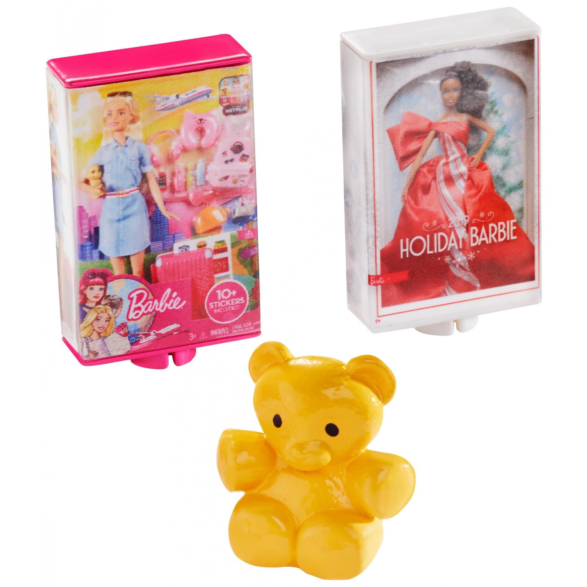 Barbie Cookie Swirl C Playset CookieSwirlC Doll w// 3 Surprise Boxes NEW Yellow
