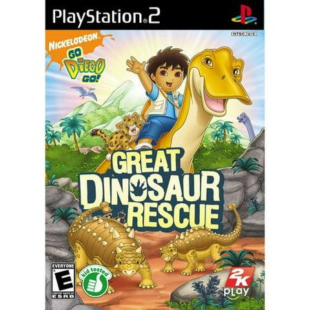 Go Diego Go: Dino Rescue (PS2) (Rescue Playstation)