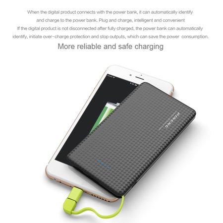 PINENG Mobile 5000mAh Power Bank Fast Charging External Battery Portable Charger Li-polymer Battery Power Bank For Android Phones - image 4 of 13