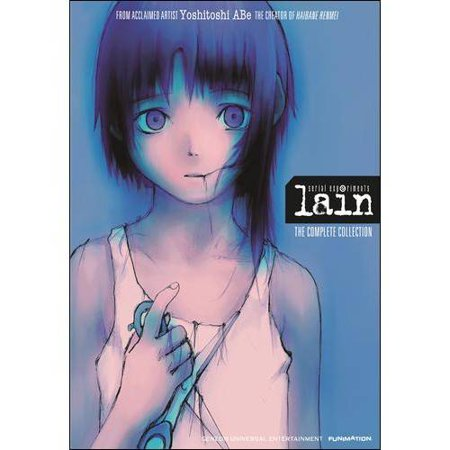 Serial Experiments Lain  The Complete Collection  Blu Ray   Dvd   Japanese