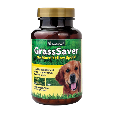 Naturvet Grasssaver Supplement For Dogs 250 Chewable