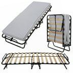 Homegear Portable Heavy Duty Steel Frame Folding Twin