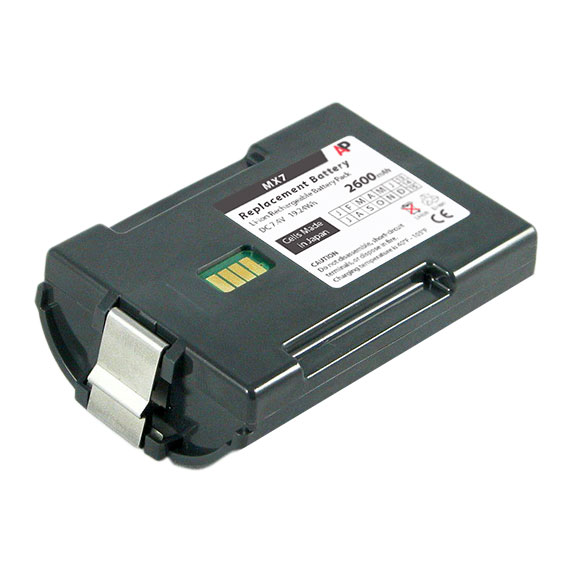 Honeywell / LXE MX7 Tecton Scanner Replacement Battery. 2600 mAh