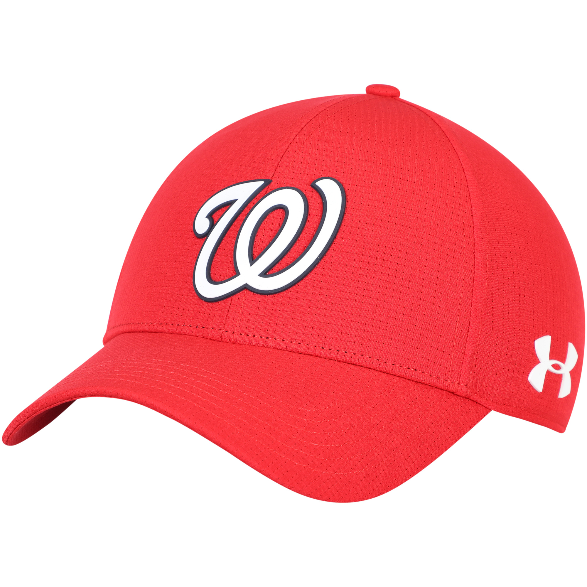 Washington Nationals Under Armour MLB Driver Cap 2.0 Adjustable Hat - Red - OSFA