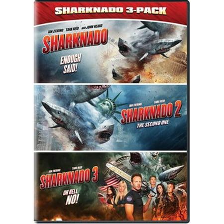 Sharknado Triple Feature (DVD) - Movies Like Sharknado