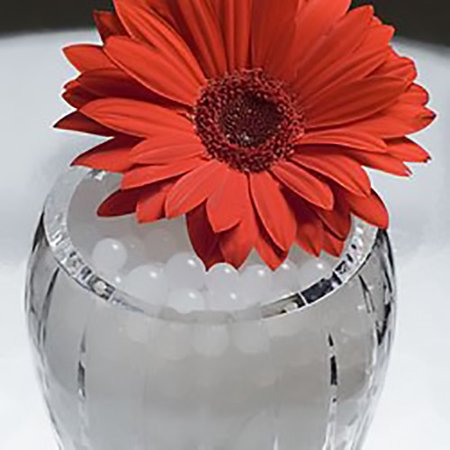 Jelly BeadZ® 8 Ounce Snow white water beads