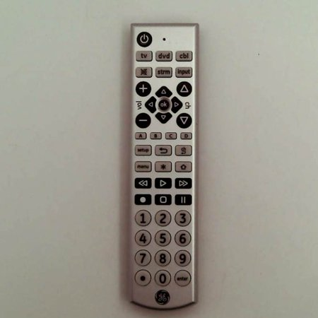 Refurbished GE 6166896 4 Device Universal Big Button Remote Control