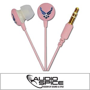 U.S. AIR FORCE Ignition Earbuds - Pink