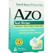 AZO Test Strips 3 Each (Pack of 2)