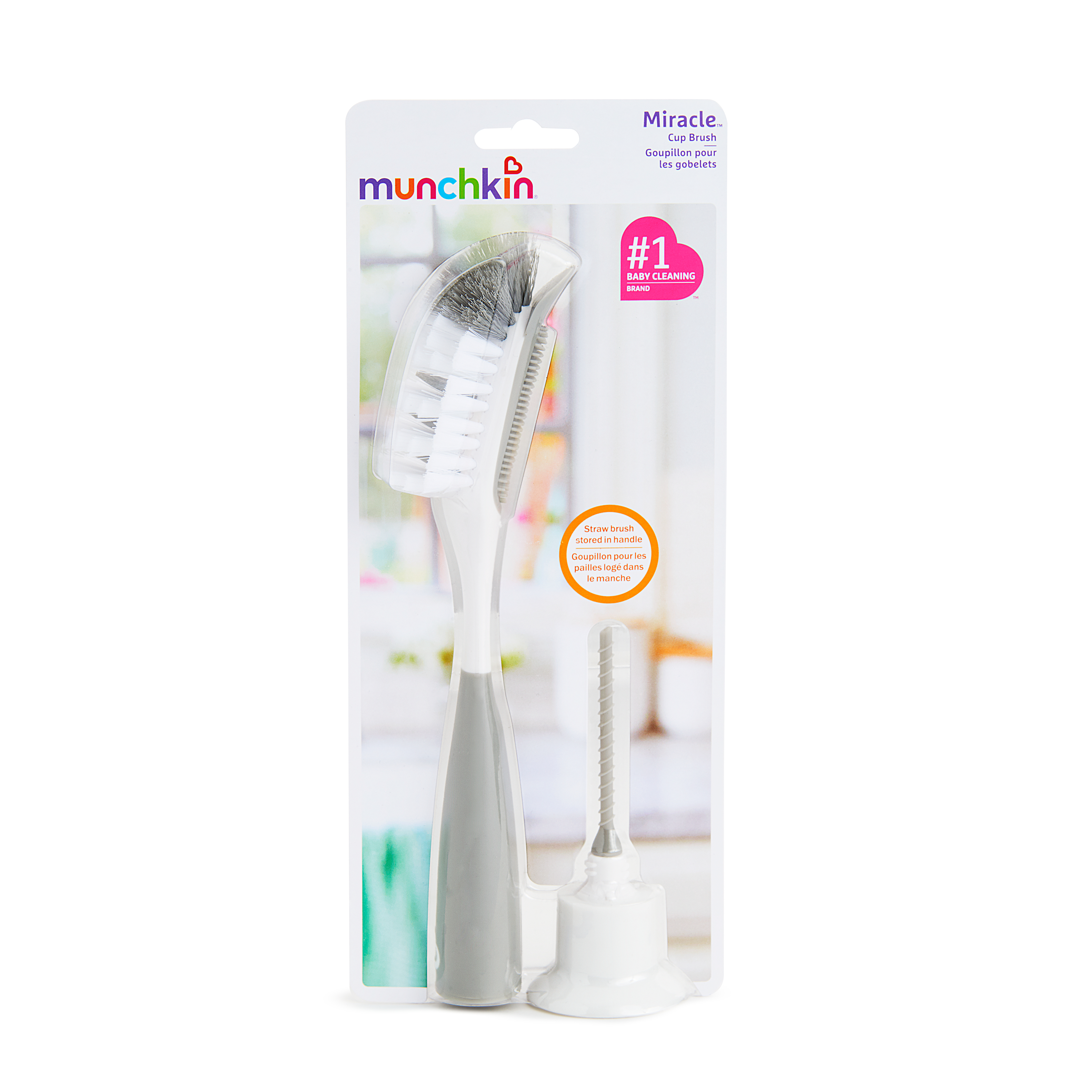 Munchkin Miracle Dual Sided Cup and Bottle Brush