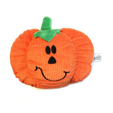 Midlee Pumpkin Smiley Face Dog Toy (Smiley Pumpkin)