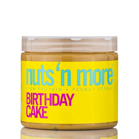 Nuts N More Birthday Cake High Protein Peanut Spread