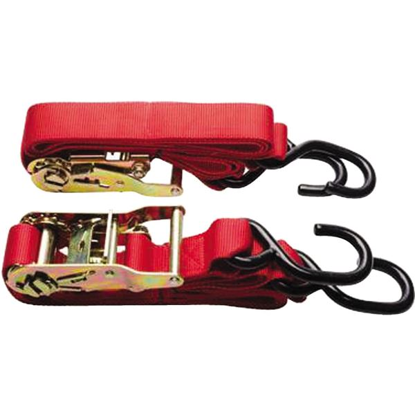 Red Slasher Products Extreme Duty Ratchet Tiedowns