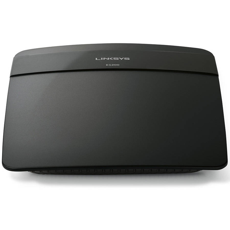 Refurbished Linksys E1200 N300 WiFi Wireless Router with Linksys Connect and Parental