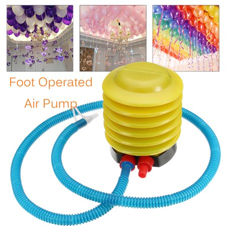 Inflator Air Foot Pump Portable for Pillow Balloon Swimming Rings Inflatable Toy](Inflatable Balloon)