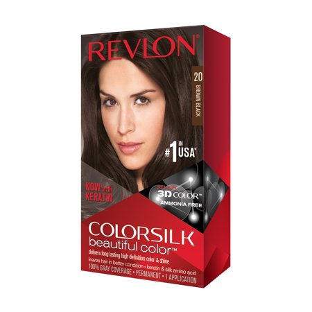 Revlon ColorSilk Beautiful Color™ Hair Color, Brown