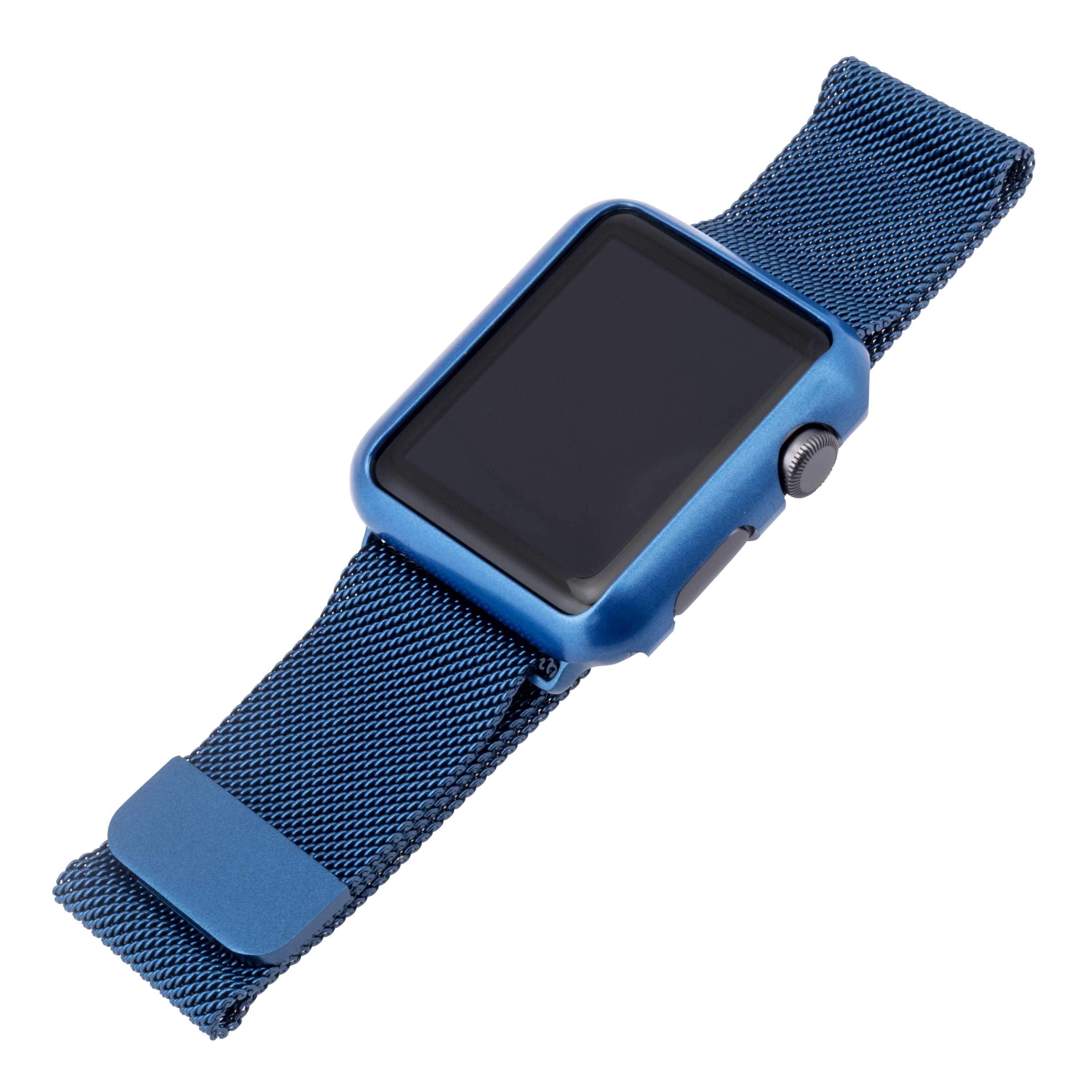 Blackweb Mesh Replacement Band For Apple Watch 42Mm Cobalt Blue