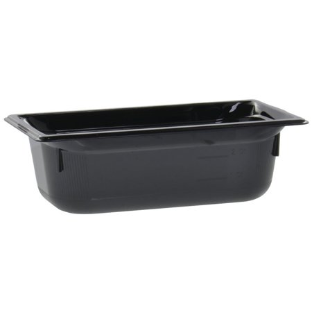 Vollrath Super Pan® Food Pan 1/3 Size Black Plastic High-Temperature - 4