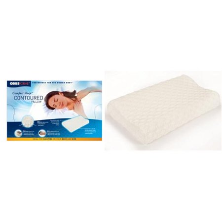 Comfort sleep contoured pillow walmartcom for Comfort pillows for sleep