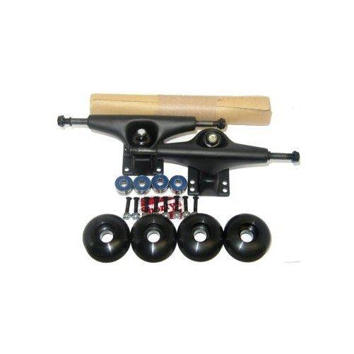 HAVOK Skateboard TRUCKS,WHEELS,BEARINGS,GRIP Pkg Pro Bl by