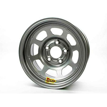Aero Race Wheel 50-085030 15X8 3IN. 5.00 SILVER Free Aero Race