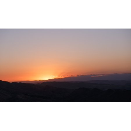 LAMINATED POSTER Scene Sunlight View Sunset Romantic Colors Poster Print 24 x 36 (Romantic Scent)