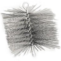"6"" Round Premium Wire Chimney Brush Single Spiral Brush Made With"