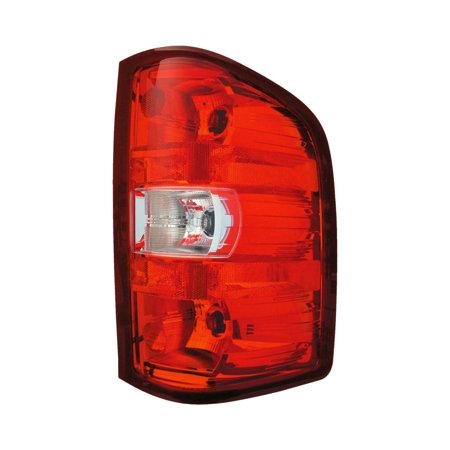 Dorman 1650753 Tail Light, Clear & Red Lens