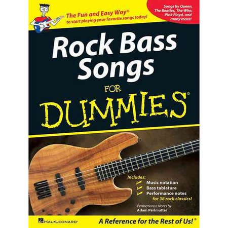 rock bass songs for dummies. Black Bedroom Furniture Sets. Home Design Ideas
