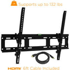 "Ematic Tilting TV Wall Mount Kit with HDMI Cable for 30"" - 79"" Displays"