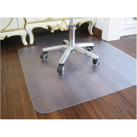 Yaheetech Advantage Mat PVC Chair Mat,Floor Chairmat for Hard Floors,36″x 48″