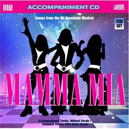 Karaoke: Mamma Mia Accompaniment (CD) (Various Accompaniment Track)