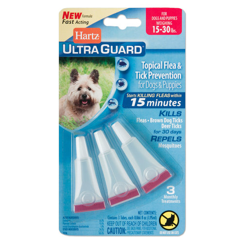 Hartz UltraGuard Flea and Tick Drops for Dogs over 16-30lbs