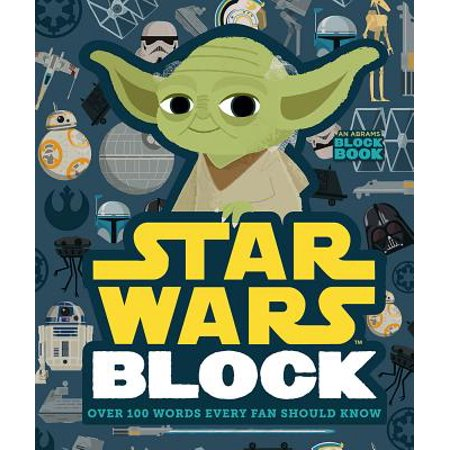Star Wars Block: Over 100 Words Every Fan Should Know (Board Book) (N Halloween Words)