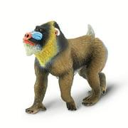 Wild Safari Wildlife Mandrill Safari Ltd Animal Educational Toy Figure