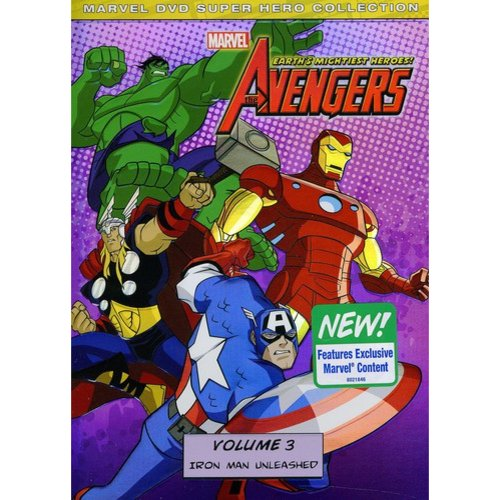 Marvel: The Avengers - Earth's Mightiest Heroes! Volume Three - Iron Man Unleashed (Widescreen)