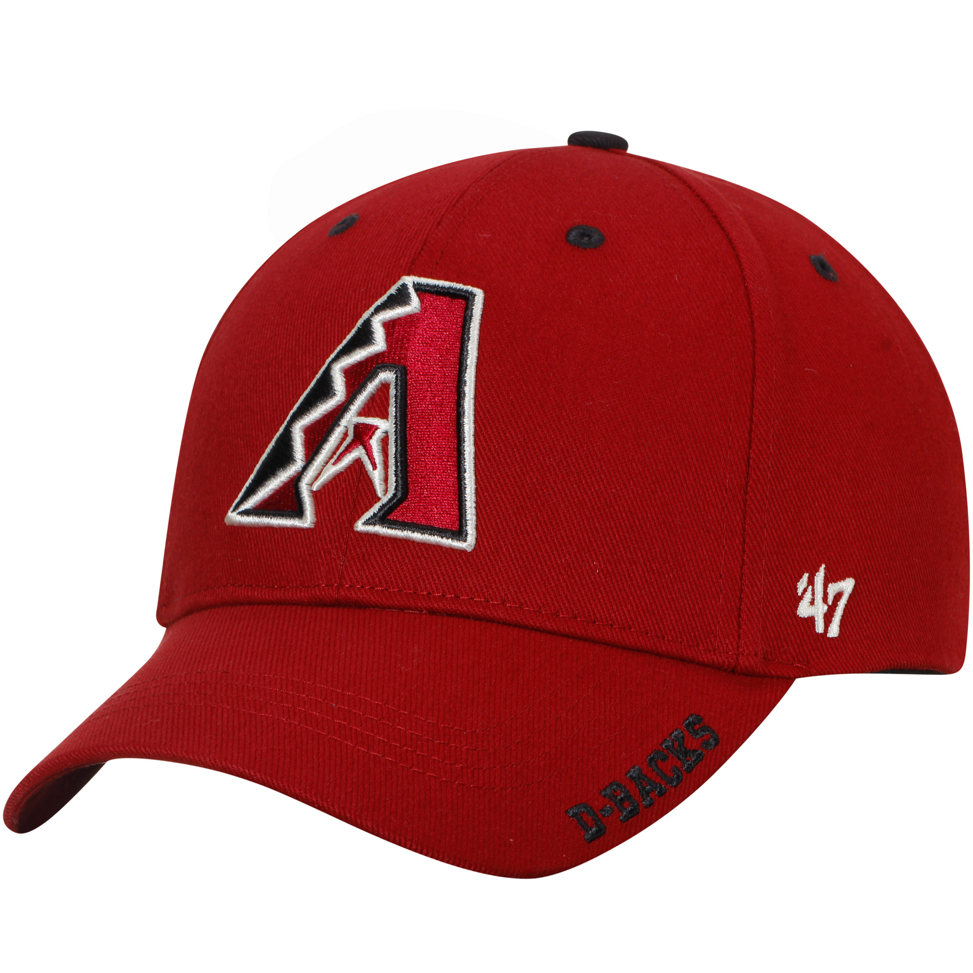 Arizona Diamondbacks '47 Frost Structured MVP Adjustable Hat - Red - OSFA