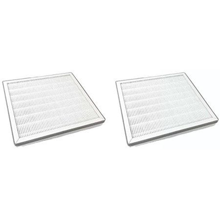 Replacement True HEPA Filter with Pre Filter Compatible with Pure Zone Purezone Air Purifier, 2 Filters