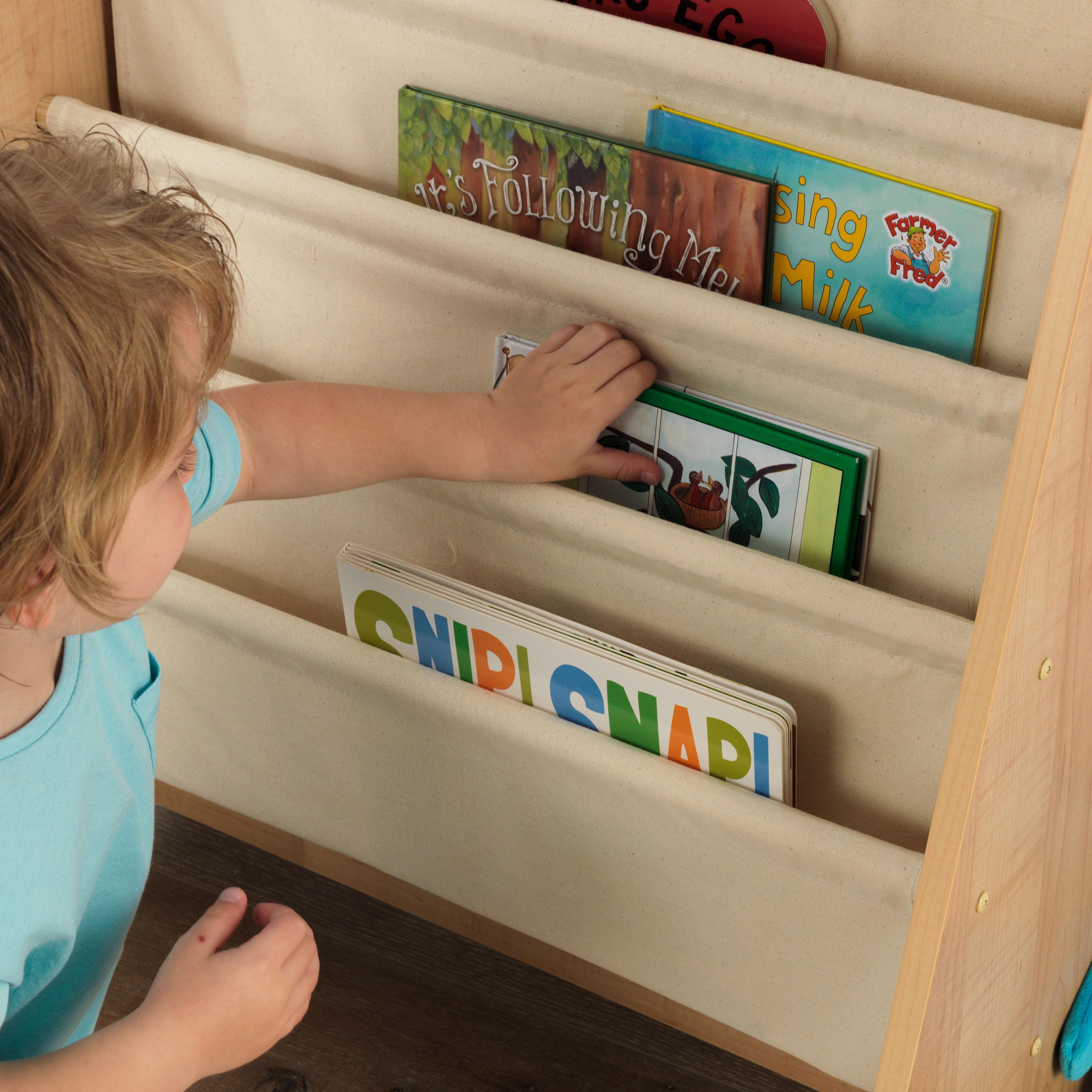 KidKraft Sling Bookshelf - Natural - Walmart.com