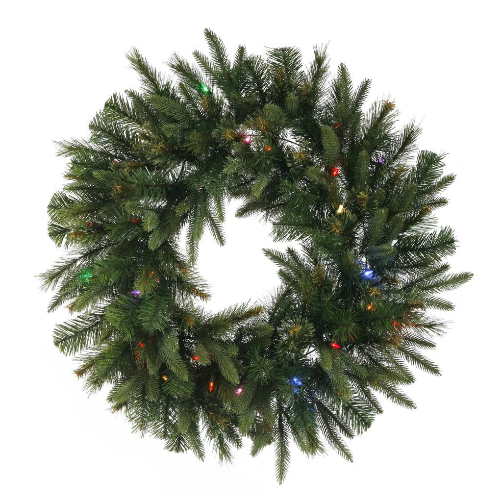 """30"""" Cashmere Wreath LED50Multi"""