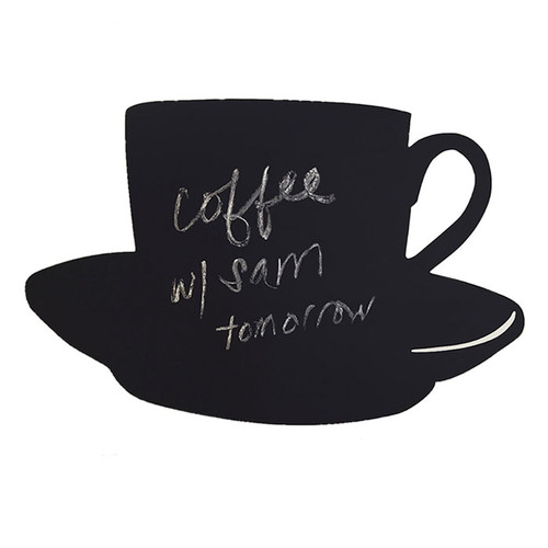 Wallies Cup and Saucer Chalkboard Wall Decal