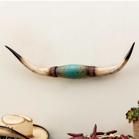 - Turquoise Steer Horn
