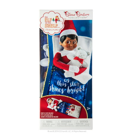 The Elf on the Shelf Claus Couture Collection Scout Elf Slumber