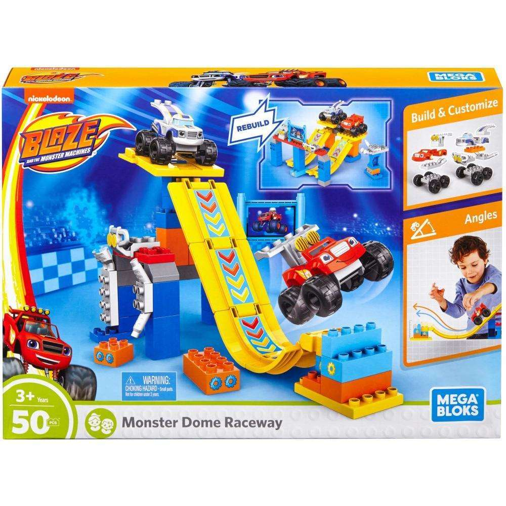 Mega Bloks Nickelodeon Blaze and the Monster Machines Blaze Monster Dome Raceway