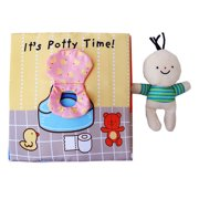 Baby Early Education Puzzle Cloth Book for 0-1-3 Years Old Children Enlightenment Toilet Bath Book Sounding Paper Anti-tear