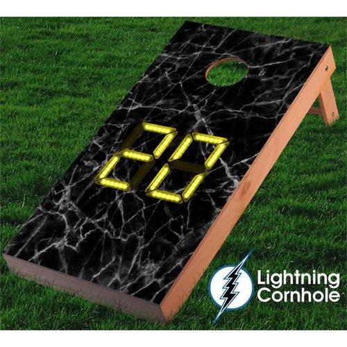 Lightning Cornhole Electronic Scoring Cornhole Board by