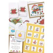 Herrschners® Christmas Stamped Stitchery Value Pack Stamped Cross-Stitch